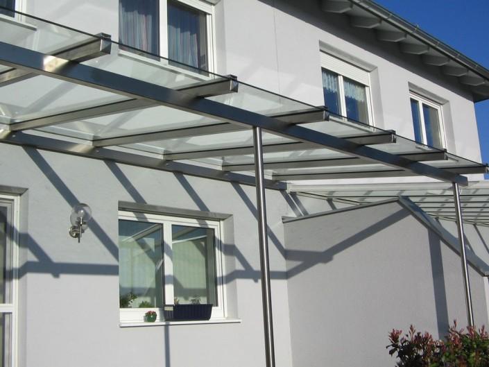 Glasüberdachung aus dem Hause Hillerzeder aus dem Salzburger Land