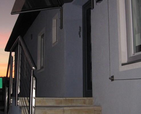 Glasüberdachung und Stiegengeländer aus dem Hause Hillerzeder aus dem Salzburger Land