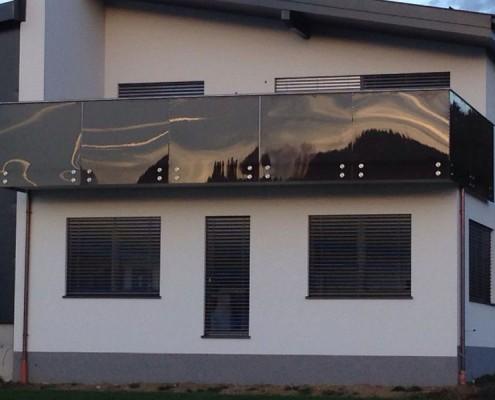 Glas- und Stahlgeländer aus dem Hause Hillerzeder aus dem Salzburger Land