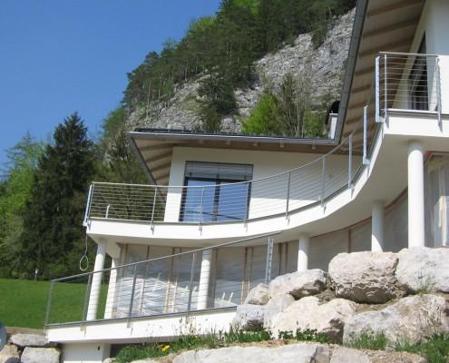 Stahlgeländer für Terrassen und Balkone aus dem Hause Hillerzeder