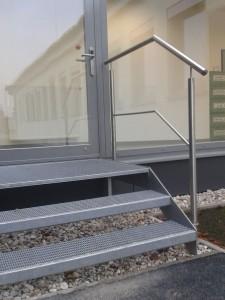Stiegen und Stiegengeländer aus Stahl aus dem Hause Hillerzeder